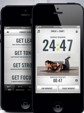FE Nike app