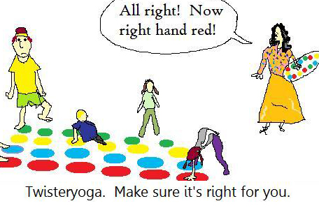 twister yoga