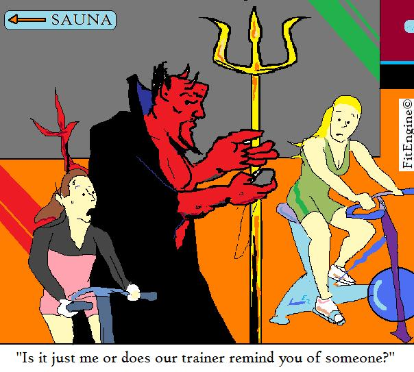 Satan's workout